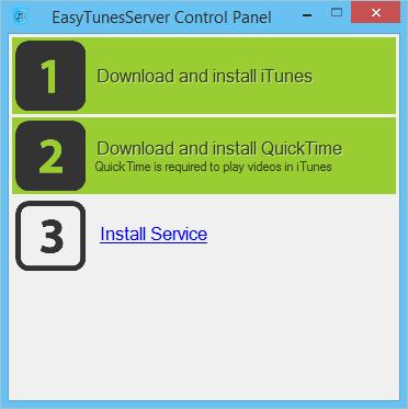 EasyTunesAsService - Run iTunes on Windows server